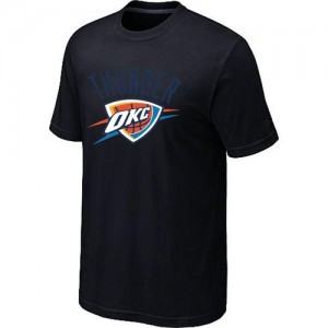 T-Shirt De Basket Oklahoma City Thunder Homme Big & Tall Primary Logo Noir