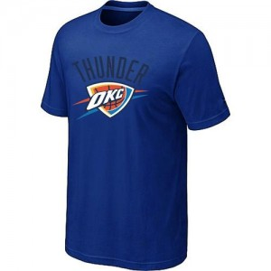 Tee-Shirt Basket Thunder Bleu Homme Big & Tall Primary Logo