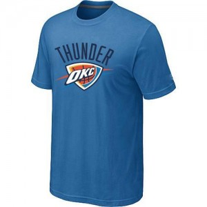 T-Shirt De Thunder Bleu clair Homme Big & Tall Primary Logo