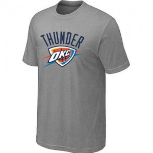 T-Shirt Basket Thunder Big & Tall Primary Logo Gris Homme