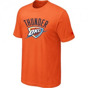 Tee-Shirt Thunder Orange Big & Tall Primary Logo Homme