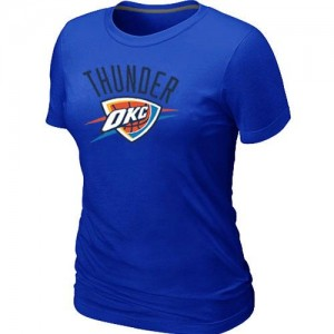 T-Shirt Basket Oklahoma City Thunder Femme Big & Tall Primary Logo Bleu