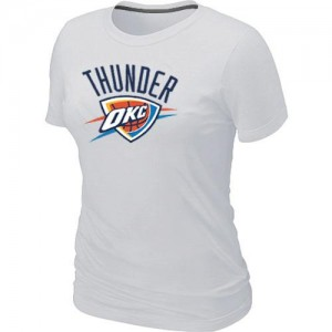 T-Shirt De Thunder Blanc Big & Tall Primary Logo Femme