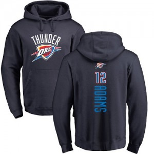 Nike Sweat à capuche Adams Oklahoma City Thunder Pullover bleu marine Backer Homme & Enfant #12