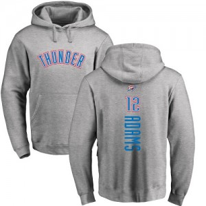 Nike NBA Hoodie Adams Oklahoma City Thunder Pullover Ash Backer Homme & Enfant No.12