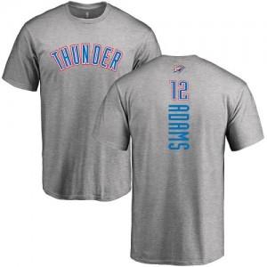 T-Shirts De Basket Adams Oklahoma City Thunder No.12 Nike Ash Backer Homme & Enfant