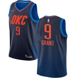 Nike Maillot Jerami Grant Oklahoma City Thunder Statement Edition Enfant bleu marine #9