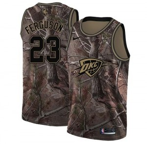 Nike Maillots De Basket Ferguson Oklahoma City Thunder #23 Realtree Collection Camouflage Enfant