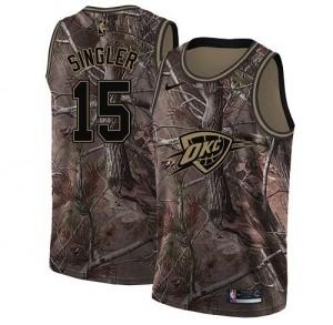 Nike NBA Maillot Singler Oklahoma City Thunder Enfant Camouflage No.15 Realtree Collection