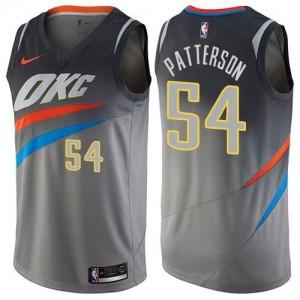 Nike Maillot De Basket Patrick Patterson Thunder City Edition Enfant Gris #54