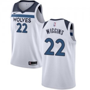Nike NBA Maillot Basket Wiggins Timberwolves Association Edition Enfant #22 Blanc
