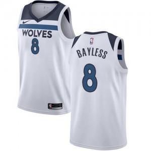 Nike Maillot Jerryd Bayless Minnesota Timberwolves Enfant Blanc Association Edition No.8