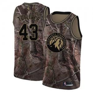 Nike NBA Maillot De Basket Tolliver Timberwolves Realtree Collection Enfant #43 Camouflage