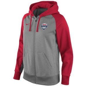 Nike NBA Hoodie De Team USA Men's Basketball Logo Performance Full-Zip Femme