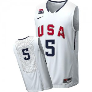 Maillot De Durant Team USA bleu marine Homme 2010 World Tournament Basketball Nike #5