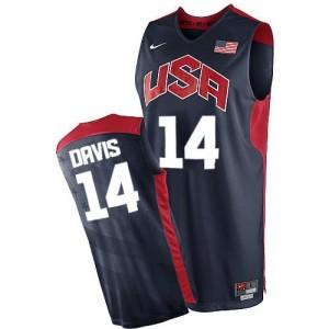Nike Maillots De Davis Team USA #14 2012 Olympics Basketball bleu marine Homme