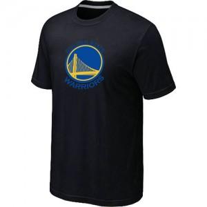 Tee-Shirt Basket Warriors Homme Noir Big & Tall Primary Logo
