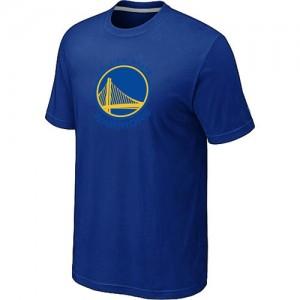 NBA Tee-Shirt GSW Team Bleu Big & Tall Primary Logo Homme