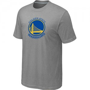 NBA T-Shirt Basket Golden State Warriors Gris Homme Big & Tall Primary Logo