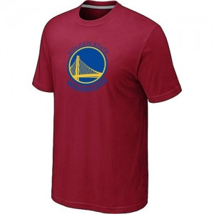 NBA T-Shirt Basket Warriors Big & Tall Primary Logo Homme Rouge