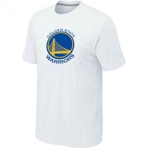 NBA T-Shirt De Warriors Blanc Homme Big & Tall Primary Logo