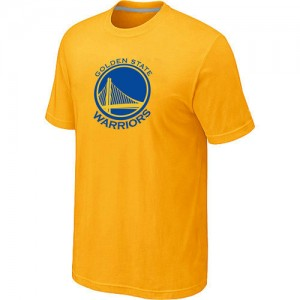 Tee-Shirt Golden State Warriors Big & Tall Primary Logo Homme Jaune