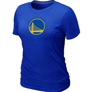 Tee-Shirt Basket GSW Femme Bleu Big & Tall Primary Logo