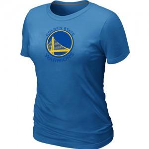 Tee-Shirt De Warriors Femme Big & Tall Primary Logo Bleu clair