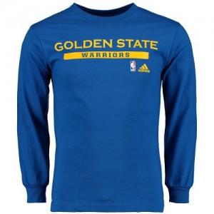 Adidas T-Shirt Warriors Cut and Paste Long Sleeve Homme Bleu royal