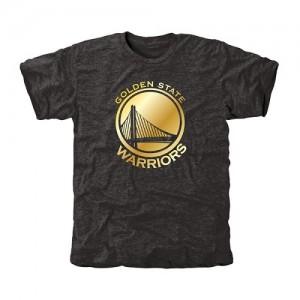 Tee-Shirt Golden State Warriors Noir Gold Collection Tri-Blend Homme