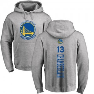 Sweat à capuche Basket Chamberlain GSW Ash Backer Pullover No.13 Homme & Enfant Nike