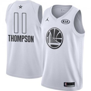 Maillot Klay Thompson Golden State Warriors 2018 All-Star Game Enfant Jordan Brand No.11 Blanc