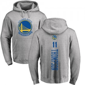 Nike NBA Hoodie De Klay Thompson Golden State Warriors Ash Backer Homme & Enfant Pullover No.11