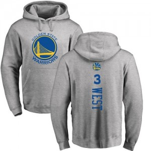 Nike NBA Hoodie De David West GSW Team #3 Homme & Enfant Ash Backer Pullover