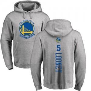 Hoodie De Kevon Looney Golden State Warriors Ash Backer Homme & Enfant Pullover Nike No.5