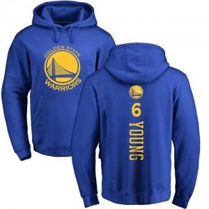 Nike NBA Hoodie Nick Young GSW Homme & Enfant #6 Bleu royal Backer Pullover