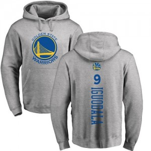 Nike NBA Hoodie De Iguodala Warriors Homme & Enfant No.9 Ash Backer Pullover