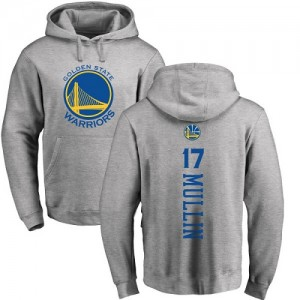 Sweat à capuche De Chris Mullin Warriors Nike Homme & Enfant No.17 Ash Backer Pullover
