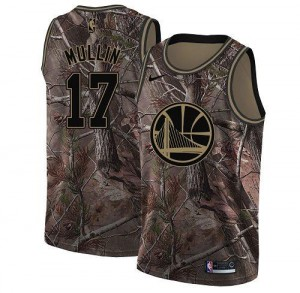 Nike NBA Maillots Mullin GSW #17 Camouflage Realtree Collection Enfant
