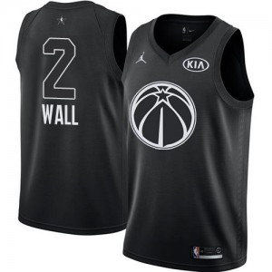 Maillot Wall Washington Wizards Noir #2 Jordan Brand Enfant 2018 All-Star Game