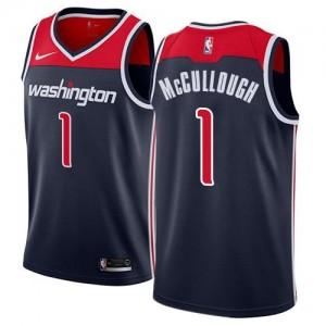 Nike Maillot Chris McCullough Washington Wizards bleu marine Statement Edition Homme #1