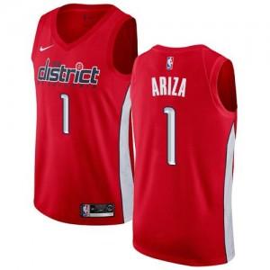 Maillot Ariza Washington Wizards Earned Edition Nike Rouge Homme No.1