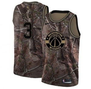 Maillots Beal Wizards Enfant Nike No.3 Camouflage Realtree Collection