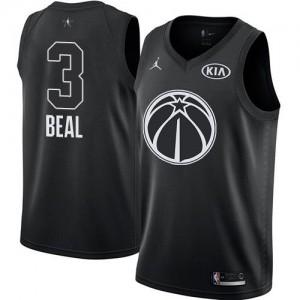 Jordan Brand Maillots De Basket Beal Wizards Noir Homme 2018 All-Star Game #3