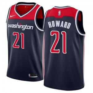 Nike NBA Maillots De Basket Howard Wizards bleu marine Statement Edition No.21 Homme