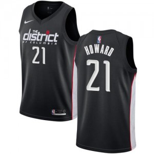 Nike Maillots De Basket Howard Washington Wizards City Edition Noir Homme #21