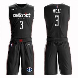 Maillot Basket Beal Washington Wizards Suit City Edition No.3 Enfant Nike Noir