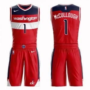 Nike NBA Maillot De Basket Chris McCullough Washington Wizards Rouge Enfant Suit Icon Edition #1